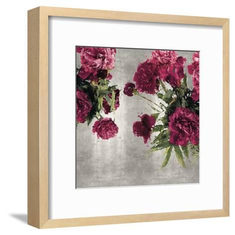 Pearly Peonies-Tania Bello-Framed Art Print
