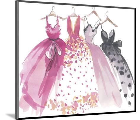 Watercolour Style II-Sandra Jacobs-Mounted Giclee Print