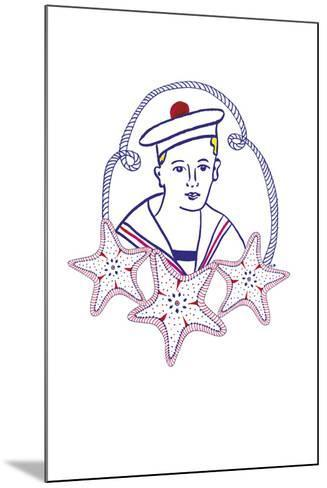 Maritime Sailor-Emilie Ramon-Mounted Giclee Print