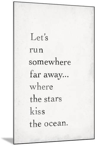 Star Kisses-The Vintage Collection-Mounted Giclee Print