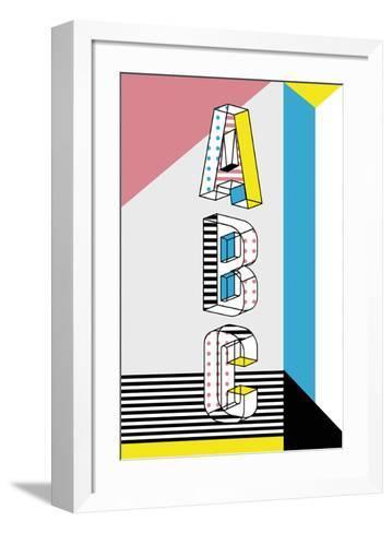 ABC Graphics-Myriam Tebbakha-Framed Art Print