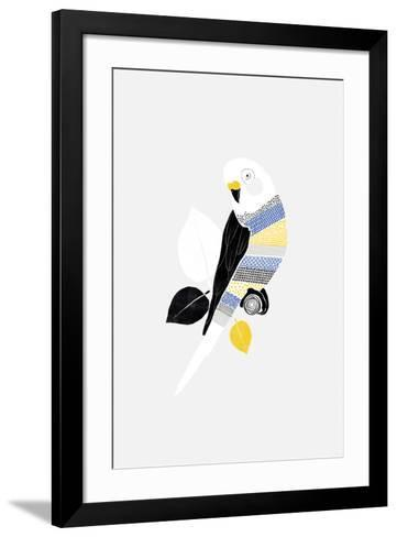 Patterned Paraqueet-Myriam Tebbakha-Framed Art Print