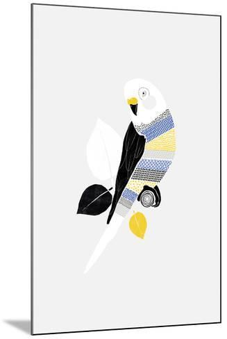 Patterned Paraqueet-Myriam Tebbakha-Mounted Giclee Print