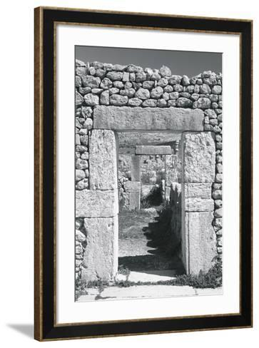 Ancient Stones IV-The Chelsea Collection-Framed Art Print