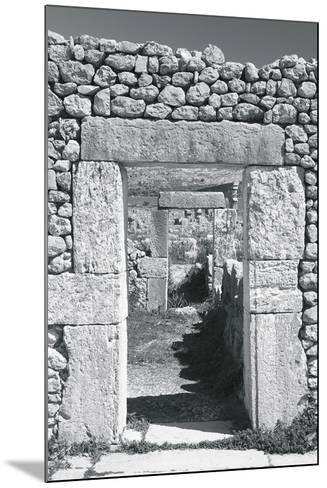 Ancient Stones IV-The Chelsea Collection-Mounted Giclee Print