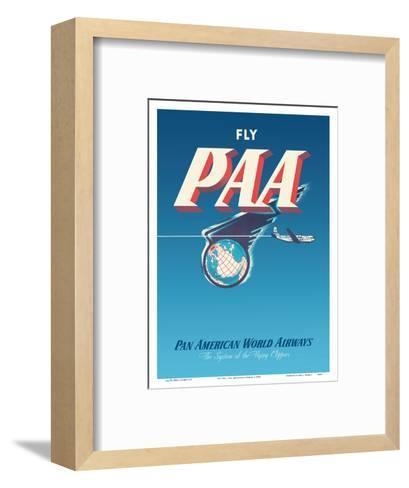 Fly PAA - Pan American Airways-Unknown-Framed Art Print