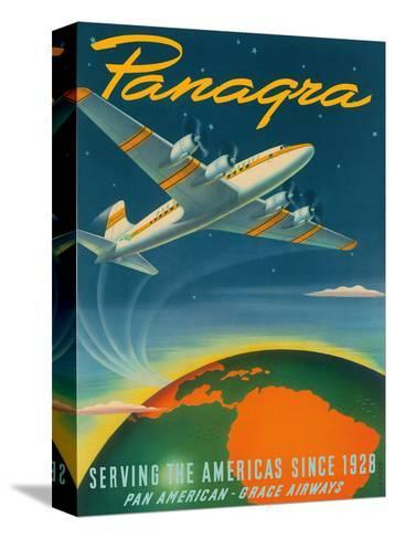 Panagra - Serving the Americas Since 1928 - Pan American - Grace Airways-Sascha Maurer-Stretched Canvas Print