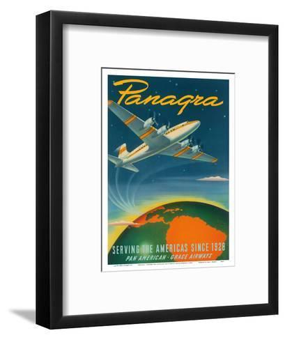 Panagra - Serving the Americas Since 1928 - Pan American - Grace Airways-Sascha Maurer-Framed Art Print