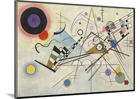 Composition 8, July 1923-Wassily Kandinsky-Mounted Art Print
