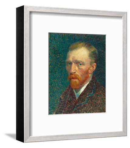 Self Portrait, 1887-Vincent van Gogh-Framed Art Print