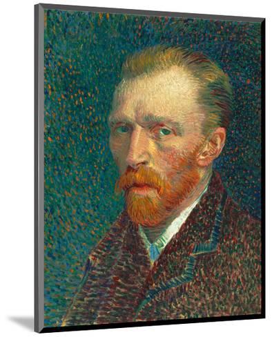 Self Portrait, 1887-Vincent van Gogh-Mounted Art Print