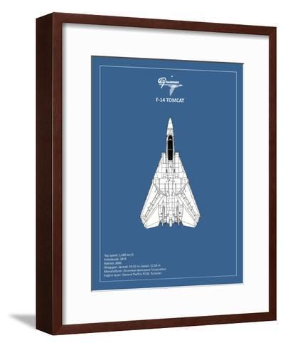 BP F-14-Tomcat-Mark Rogan-Framed Art Print