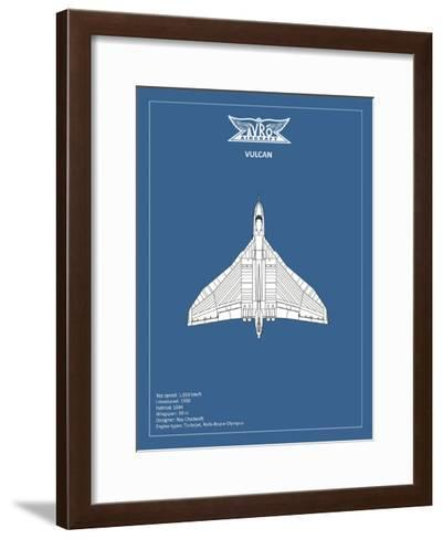 BP Avro Vulcan-Mark Rogan-Framed Art Print