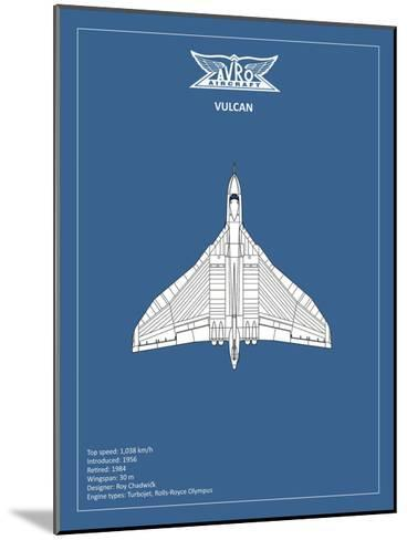 BP Avro Vulcan-Mark Rogan-Mounted Giclee Print