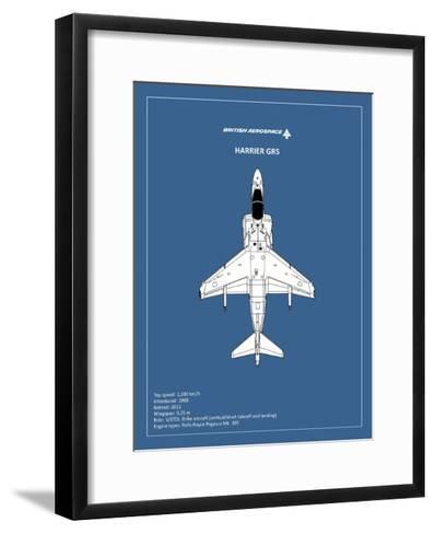 BP BAE HarrierGR5-Mark Rogan-Framed Art Print
