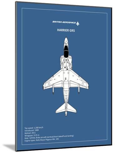 BP BAE HarrierGR5-Mark Rogan-Mounted Giclee Print