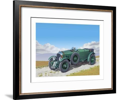 Bentley-Gerard Kelly-Framed Art Print