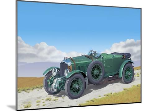 Bentley-Gerard Kelly-Mounted Giclee Print