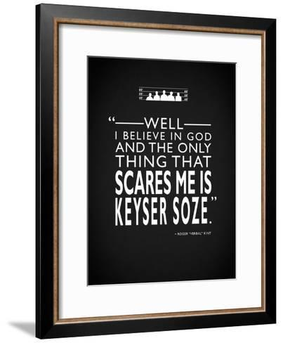 The Usual Suspects - Scares-Mark Rogan-Framed Art Print