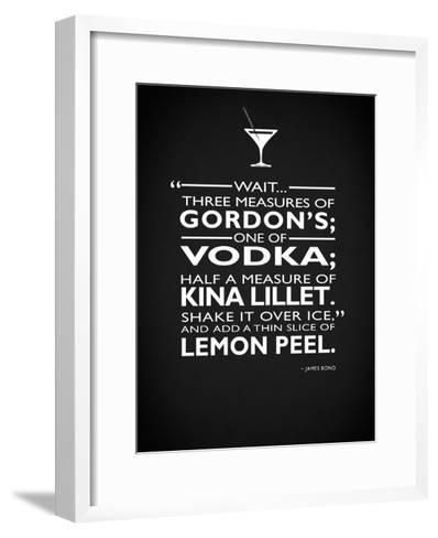 James Bond - 3 Measures-Mark Rogan-Framed Art Print