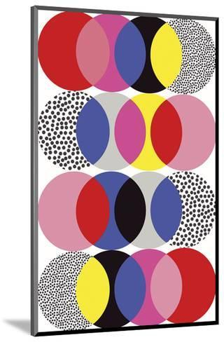 Roulette Tangle-Sophie Ledesma-Mounted Giclee Print