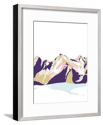 Neige sur Jura-Myriam Tebbakha-Framed Art Print