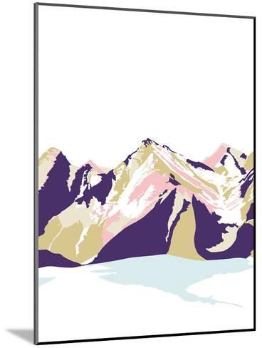 Neige sur Jura-Myriam Tebbakha-Mounted Giclee Print