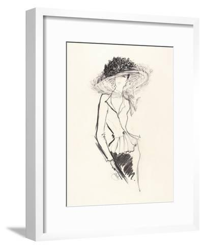 Big Hat-Jane Hartley-Framed Art Print