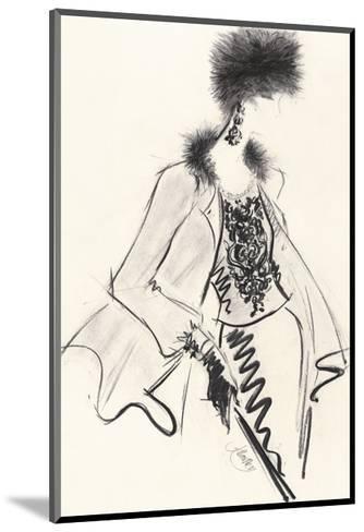 Fur Hat-Jane Hartley-Mounted Giclee Print