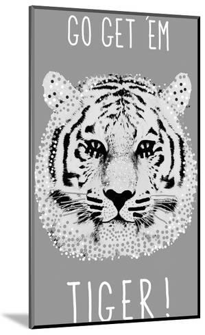 Go Get 'em Tiger!-Emilie Ramon-Mounted Giclee Print
