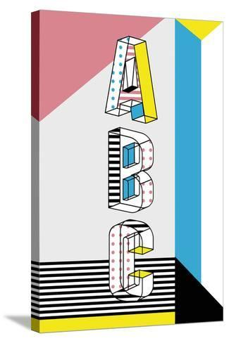 ABC Graphics-Myriam Tebbakha-Stretched Canvas Print