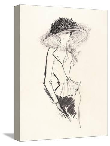 Big Hat-Jane Hartley-Stretched Canvas Print