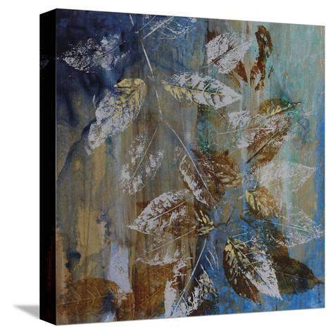 Jewelled Leaves XII-Hollack-Stretched Canvas Print