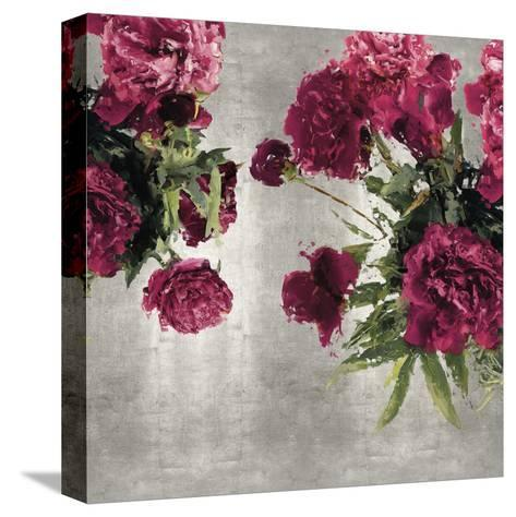 Pearly Peonies-Tania Bello-Stretched Canvas Print