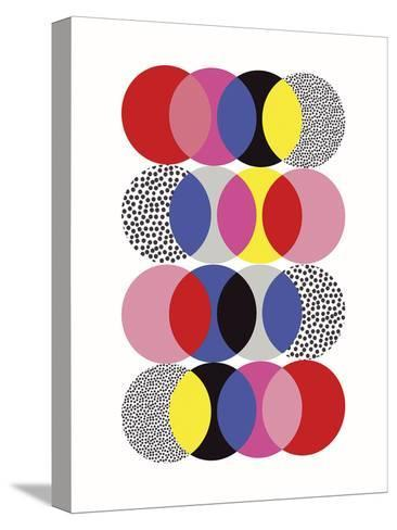 Roulette Tangle-Sophie Ledesma-Stretched Canvas Print