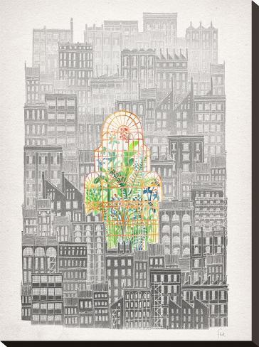 Eva-David Fleck-Stretched Canvas Print
