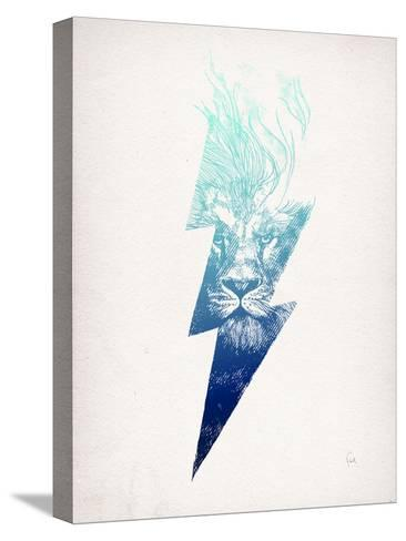 King Of The Clouds-David Fleck-Stretched Canvas Print