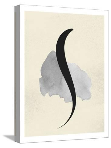 Abstract Text--Stretched Canvas Print
