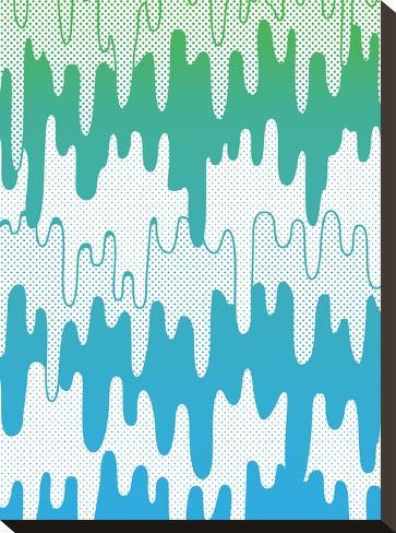 Trippy Drippys-Joe Van Wetering-Stretched Canvas Print