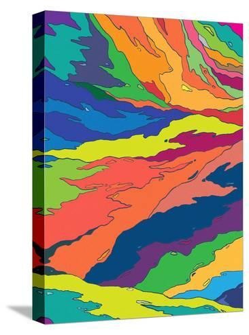 Liquid Camo-Joe Van Wetering-Stretched Canvas Print