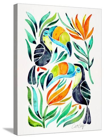 Toucans-Cat Coquillette-Stretched Canvas Print