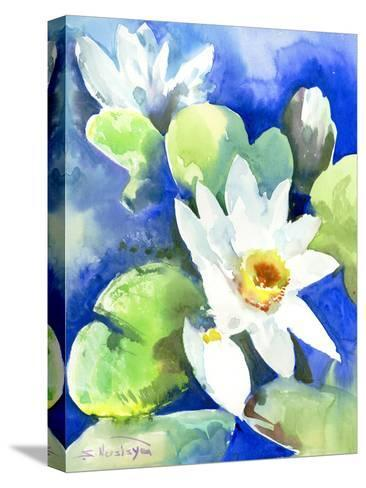 Lotuses 2-Suren Nersisyan-Stretched Canvas Print