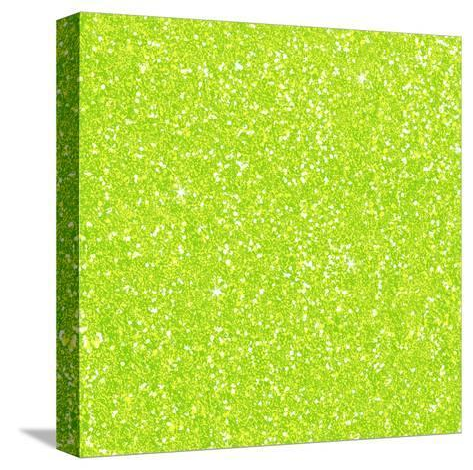 Green Diamond-Wonderful Dream-Stretched Canvas Print