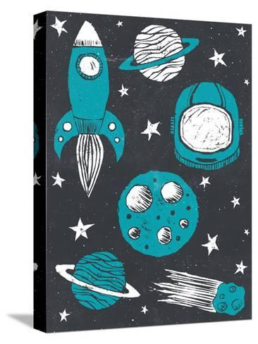 Space Age-Tracie Andrews-Stretched Canvas Print