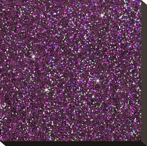 Purple Shiny-Wonderful Dream-Stretched Canvas Print