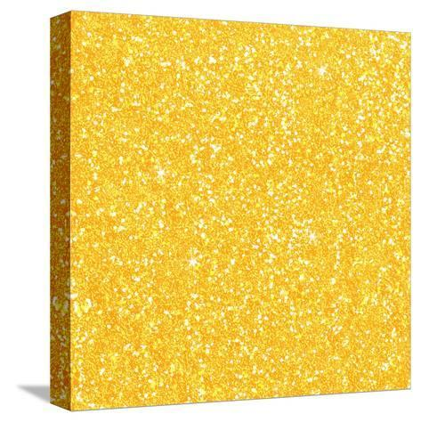 Yellow Shiny Diamond-Wonderful Dream-Stretched Canvas Print