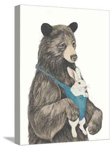 The Bear Aupair-Laura Graves-Stretched Canvas Print