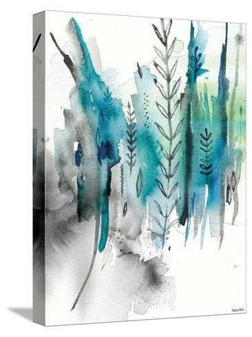 Nature In Blue No2-Paula Mills-Stretched Canvas Print