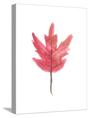 Watercolor Autumn Leaf-Jetty Printables-Stretched Canvas Print