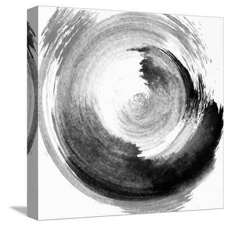 Circular Abstract II.--Stretched Canvas Print